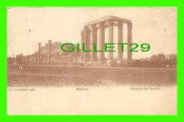 ATHÈNES, GRÈCE - TEMPLE DE JUPITER - ÉCRITE - 3/4 ENDOS - PALLIS & COTZIAS - - Grèce
