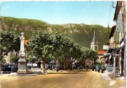 CPM 1961 ANIMEE LARAGNE PLACE DE LA FONTAINE - Other Municipalities
