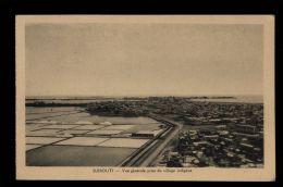 L6194 DJIBOUTI - VUE GÉNÉRALE PRISE DU VILLAGE INDIGÈNE - Gibuti
