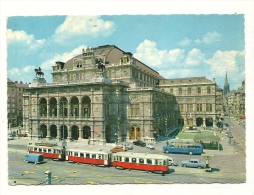Cp, AUtriche, Vienne, Opéra, Voyagée - Altri