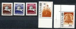 Litauen - Mi.Nr.  465 - 469    -  Postfrisch - Litauen