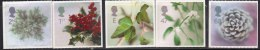 Self Addhesive, Christmas, Flower, Plant,  Christmas, MNH 2002 Great Britain, - 1952-.... (Elizabeth II)