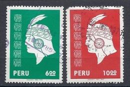 130605055  PERU  YVERT  Nº  628/29 - Peru