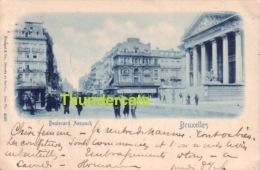 CPA  BRUXELLES BOULEVARD ANSPACH 1899 !! - Avenues, Boulevards