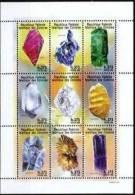 COMORES Mineraux, (Yvert N° 824/32) ** MNH, Neuf Sans Charniere - Minéraux