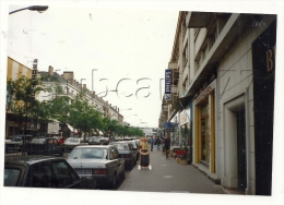 Saint-Nazaire (44): Photo Projet CP GF Perspective De La Rue  Prise Du Magasin De Torréfaction  En 1991 (animé) RARE. - Saint Nazaire