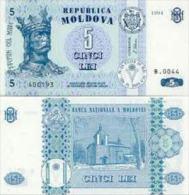 MD (b) - 2009 - 5 Lei (Tres Bon Etat/used) - Moldova