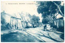 Algérie / Environs De GUELMA -- MILLESIMO -- La Grande Rue. - Guelma