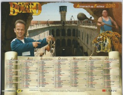 Almanach Du Facteur 2010 ,FORT BOYARD - Calendars