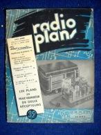 Revue RADIO PLANS #32 (JUIN 1950) TSF TELEVISION HAUT PARLEUR AMPLIFICATEUR RECEPTEUR ! - Literature & Schemes