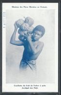 - REPRODUCTION FIDJI - Dans L'archipel, La Cueillette Du Fruit De L'arbre à Pain - Figi