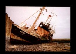"14 - SAINT-AUBIN-SUR-MER - Echouage De ""Coralline"" - 1988 - Saint Aubin"