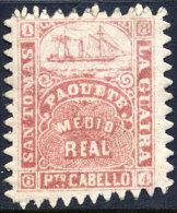 SAINT THOMAS-LA GUAIRA N° 7A NEUF** - Briefmarken