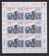 Monaco Mi 2835 100th Anniversary Of Paul-Émile Victor French Polar And Polynesia Explorer - Full Sheet 2007 ** - Affiches