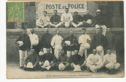 Tananarive Section Esperanto Du 13 Eme Colonial Poste De Police - Madagaskar