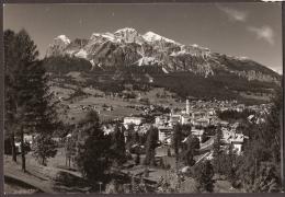 Cortina D'Ampezzo 1956 - Con Binari Del Treno - Mit Eisenbahn - Avec Chemin De Fer - With Railroad Track - Belluno