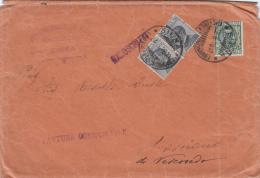 SIENA 1928 - FATTURA COMMERCIALE / MANOSCRITTI - NON COMUNE TARIFFA CENT. 85 - MICHETTI / FLOREALE  -   L2400 - Storia Postale