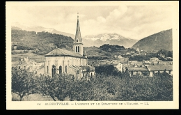 73 ALBERTVILLE / L'Abside Et Le Quartier De L'Eglise / - Albertville