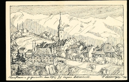 73 ALBERTVILLE / Schloss Manuel And Conflans Gegenüber Dem Offiz. Gef. Lager Albertville  / - Albertville