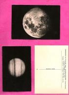 Lot De 6 - OBSERVATOIRE DU PIC DU MIDI -et De Bagneres De Bigorre - MARS, SATURNE, La Lune, Jupiter, Tache Solaire - Astronomy