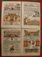 Quatre Vieille Ou Belle Chanson De France Illustrée. 1934. Polichinelle, Mon Merle, Biron, Le Laurier - Vieux Papiers