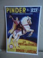 Carte Postale Cirque Pinder Roger Lanzac - Zirkus