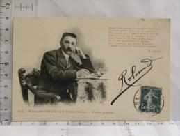 CPA (80) Somme - 414 Edouard DAVID (dit Tchot Doère) Poète Picard - France