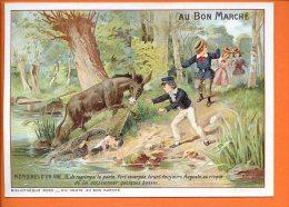 AU BON MARCHE, LITHOGRAPHIE, MEMOIRES D´UN ANE, ILLUSTRACTEURS  Non Signé  N° 6, Sept Classe. 2013 - Au Bon Marché