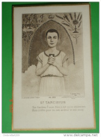 PL.331 A.Roblot Paris - Saint TARCISIUS S.Tarcisio Martire - Santino Vecchio Francia - Images Religieuses