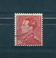 Belgique N°848B  Timbres De 1951 Oblitérés - Usati