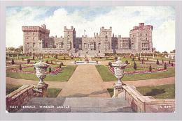 I568 Windsor Castle - East Terrace - Chateau Castello Schloss Castillo / Non Viaggiata - Windsor Castle