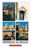 PRINCIPAUTE DE MONACO - Côte D'Azur - Carte Multi-vues - Circulée En 1997 - Multi-vues, Vues Panoramiques