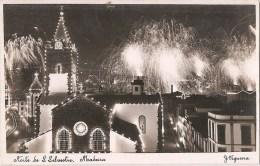 Funchal - Madeira - Noite De S. Silvestre - Fim De Ano 1954 - Madeira