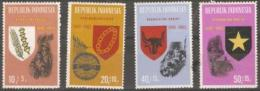 INDONESIA - 1965 20th Annversary 4 Values MNH **  SG 1052-3 & 1055-6 - Indonesië
