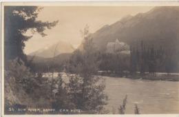 CANADA BOW RIVER  BANFF  CPR HOTEL - Banff