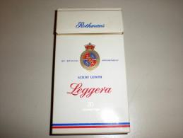 TABACCO - ROTHMANS - LEGGERA  - EMPTY PACK ITALY - Contenitori Di Tabacco (vuoti)