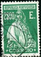 PORTOGALLO, PORTUGAL, 19212-1931, CERES, FRANCOBOLLO USATO, Scott 290 - 1910 - ... Repubblica