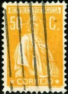 PORTOGALLO, PORTUGAL, 1912-1931, CERES, FRANCOBOLLO USATO, Scott 265, YT 249(B), Afi 244 - 1910 - ... Repubblica