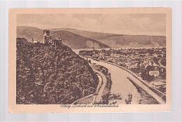 I573 Burg Lahneck Und Niederlahnstein - Castello Castle Chateau Schoss Castillo / Non Viaggiata - Lahnstein