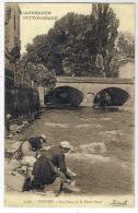 ISSOIRE: Bon Plan Sur Les Lavandières, La Couze Et Le Vieux Pont - Issoire