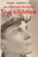 OFFICIER FRANCAIS GERARD DE CATHELINEAU CHANTIERS JEUNESSE CJF 1er REGIMENT FRANCE CHERCHELL ALLEMAGNE INDOCHINE ALGERIE