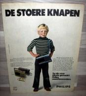 Reclame 1978 - Philips Cassetterecorders - Publicités