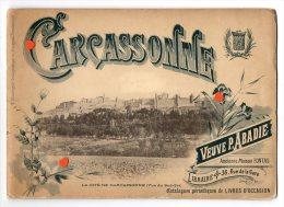 ZE-11-LA CITE DE CARCASSONNE-(Vues Du Sud-Est)--petit Livres D´images - Guides Touristiques