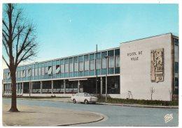 CP, 57, HAGONDANGE, Important Centre Métallurgique, L'Hôtel De Ville, Carte Réponse Jeux Télé Star, Voyagé En 1981 - Hagondange
