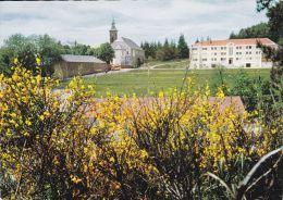 Cp , 07 , SAINT-LAURENT-LES-BAINS , Abbaye Notre-Dame-Des-Neiges - Francia
