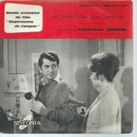 """45 Tours EP - CHRISTIAN SARREL -  SINFONIA 520  """" GENERIQUE """" + 4 ( B.O. Du Film """" REGLEMENTS DE COMPTE """" GELIN / CARREL - Autres - Musique Française"""