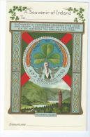 DUBLIN  ( Irnande )  -  Congrès Eucharistique De 1932  Très Belle Carte Gaufrée ) - Irlande