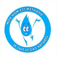 Autocollant Sticker / Méthanie - Je Suis Le Gaz Naturel / Méthane énergie  // ADH 21/4 - Autocollants