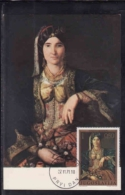 Art, Katarina Ivanovic, Femme En Costume Serbe - Maximum Cards