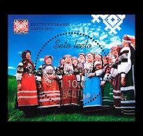 Estonia 2013 - Cultural Heritage Year Souvenir Sheet Mnh - Estonia